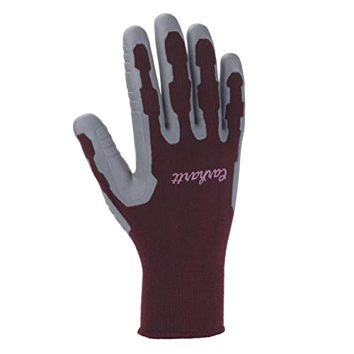 Carhartt Women's Pro Palm C-Grip Glove, Dusty Plum, Medium