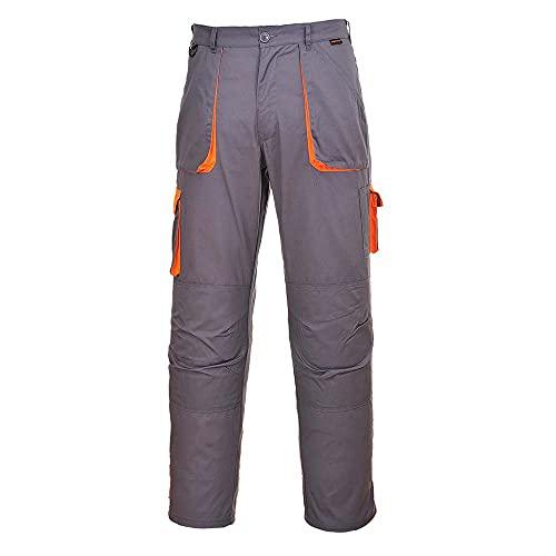 Portwest TX11 Texo - Pantaloni a contrasto, colore: antracite, taglia L