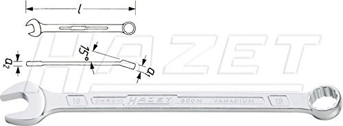 Hazet Size 24mm Combination Wrench by Hazet