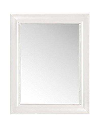 Kartell Francois Ghost Espejo, Blanco, 88 x 111 cm