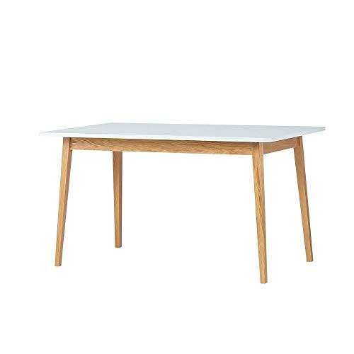 Selsey Veneer - Tavolo da Pranzo/Tavolo Allungabile/Design Salvaspazio/Tavolo Estensibile (140x80...