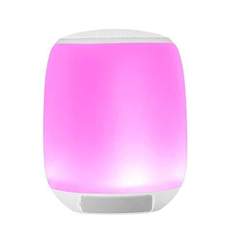 GaoF Altavoz Bluetooth, Altavoz con protección para los Ojos, Altavoz Inteligente con LED Bluetooth, Impermeable, Portátil, Apto para Deportes en Interiores y
