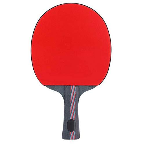DAUERHAFT Pingpong Paddle Diseño Ligero, para competición de Entrenamiento, para Tenis de Mesa(Horizontal Shot) ⭐