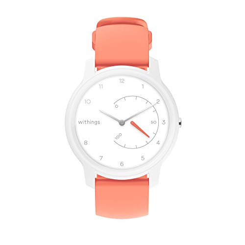 Withings Move Unisex-Adult, Bianco & Corallo, 38mm