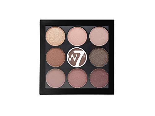W7 | Eyeshadow Palette | The Naughty Nine Eye Colour Compact - Mid Summer Nights | 9 Shades