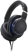 Audio-Technica ATH-MSR7bBK Over-Ear High-Resolution Headphones (Black)