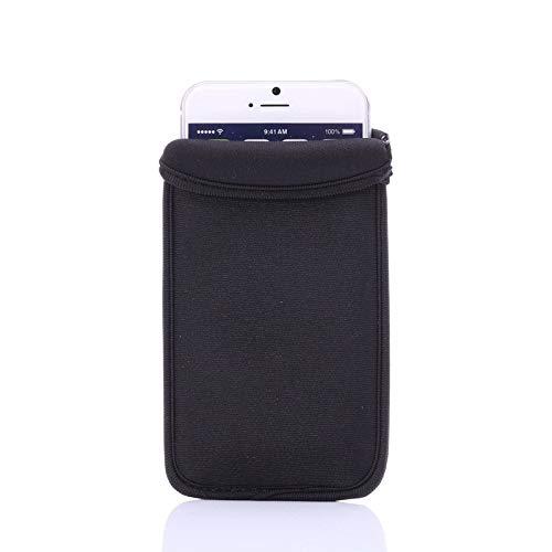 BAIERSI Funda universal de neopreno a prueba de golpes para iPhone 8, SE 2020, 7, 6S, 6, funda de neopreno para Samsung Galaxy S4/S3/J7-2017