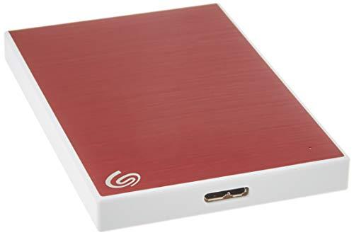 Seagate Backup Plus Slim disque dur externe 2 To Rouge