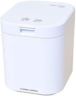 島産業 家庭用 生ごみ減量乾燥機 生ごみ処理機 パリパリキュー 1~5人用 PPC-11-WH ホワイト