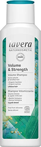 Lavera Shampoo Volume and Strength, Hair Care, Natural Cosmetics, vegan, certified, 250ml