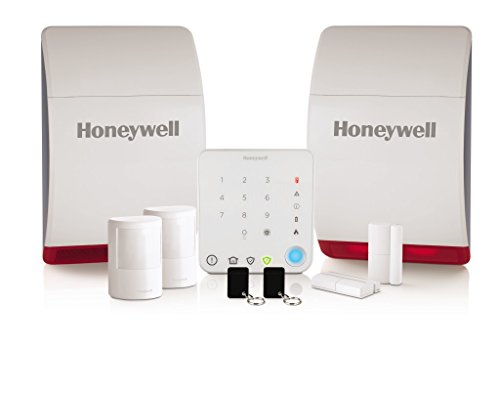 Honeywell HS342S Wireless Home and Garden Alarm With Intelligent Control - White by Honeywell