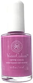 Honeybee Gardens Watercolors Nail Enamel Hippie Chick, 0.05 Ounce