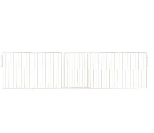 Safetots Room Divider White Up to 360cm