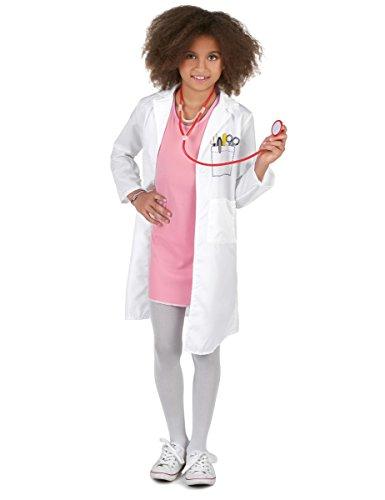 Generique Déguisement Docteur Fille 7 à 9 Ans