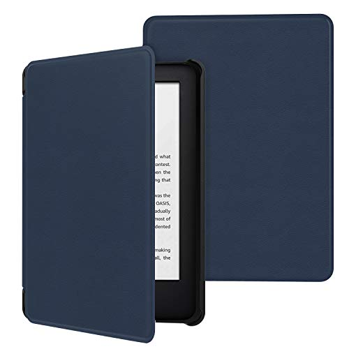 MoKo Case Fits All-New Kindle (10th Generation - 2019 Release Only), Ultra Lightweight Shell Cover with Auto Wake Sleep, Will Not Fit Kindle Paperwhite 10th Generation 2018 - Indigo