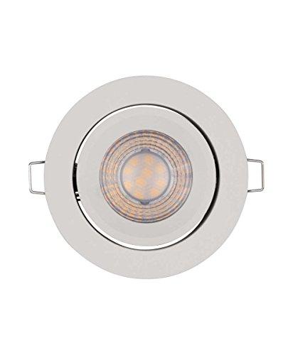 Preisvergleich Produktbild Osram LED Einbaustrahler,  Leuchte für Innenanwendungen,  Warmweiß,  Stufenlos Dimmbar per Wandschalter,  Spot Set ADJ Simpe DIM