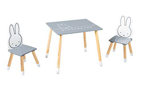 Roba Miffy Ensemble de chaises et table pour enfants