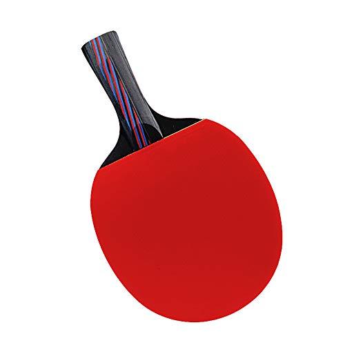 Y-H - Raqueta de tenis de mesa para estudiantes, juego de raqueta de tenis de mesa, dos disparos y tres bolas