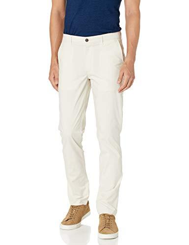 Amazon Essentials Skinny-fit Lightweight Stretch Pant Pantalones, Piedra, 34W / 34L