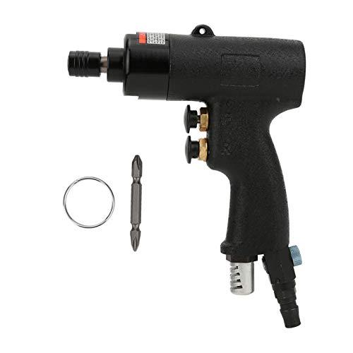 Destornillador de aire de impacto, destornillador de grado industrial 8H conveniente tipo pistola destornillador neumático seguro para montaje electromecánico para montaje de muebles