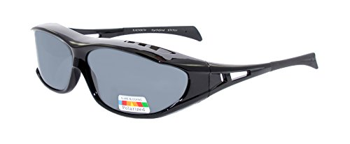 rainbow safety Sobre Gafas de Sol Polarizadas Para Conducir Día y Noche Pesca Gafas Superpuestas RWN20 (Cat.3)