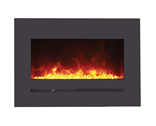 Why Choose Sierra Flame Electric Fireplace with Surround (WM-FML-26-3223-STL), 26-Inch