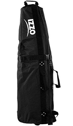 Izzo two Wheeled Black Padded large Size Travel Cover