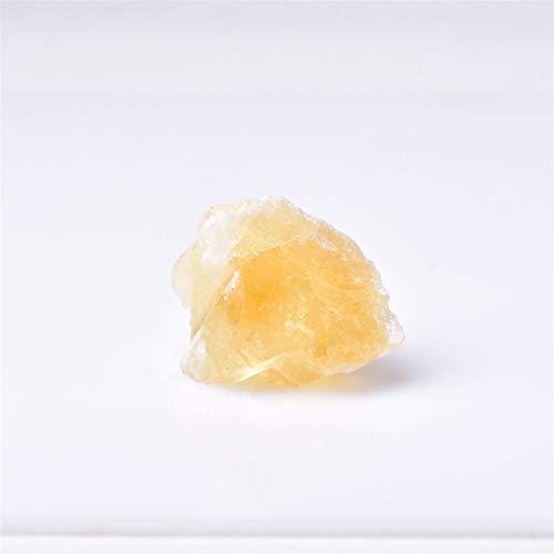 CHENJUNAMZ 1pc Natural Citrine Stone Crystal Healing Mineral Tea Cup Tea Cup Rock Reiki El espécimen Coleccionable Puede ser Utilizado para la decoración del hogar