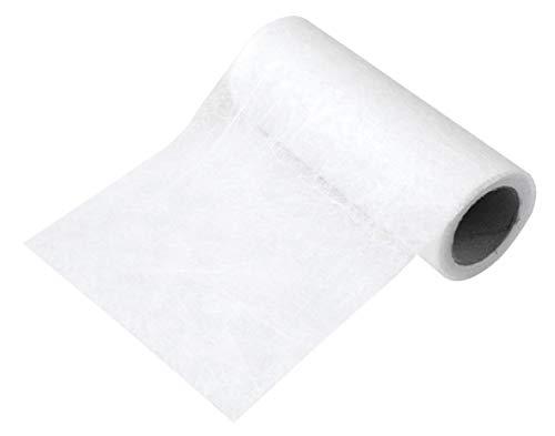 Fibre non-tissée - blanc - 10 cm - 25g/m2 - rouleau 5 m - Rayher