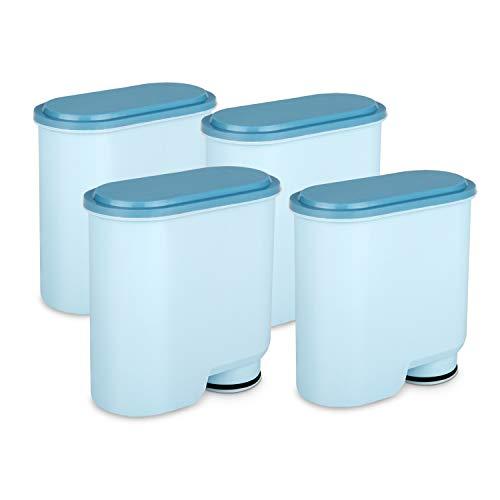 iTK Wasserfilter kompatibel mit Philips CA6903 AquaClean, Aktivkohle-Weichmacher Kaffeefilter Kalkschutzfilter Filter Kompatibel mit CA6903 / 10/00 / 01/22 / 47(4 Stück)