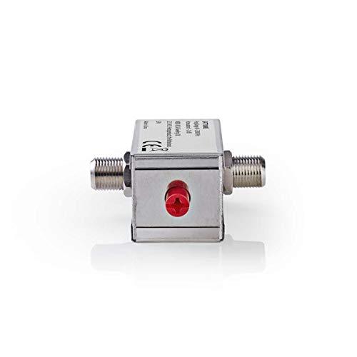 TronicXL Profi Satellitendämpfer 0–20dB 45–2300 MHz Sat Dämpfer Entstör Filter Signal verbessern Dämpfungsregler Sat Dämpfungsteller dämpfungsglied
