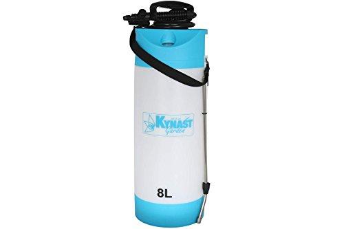 Kynast Garden Drucksprüher 8 Liter blau Gift Unkraut Spritze