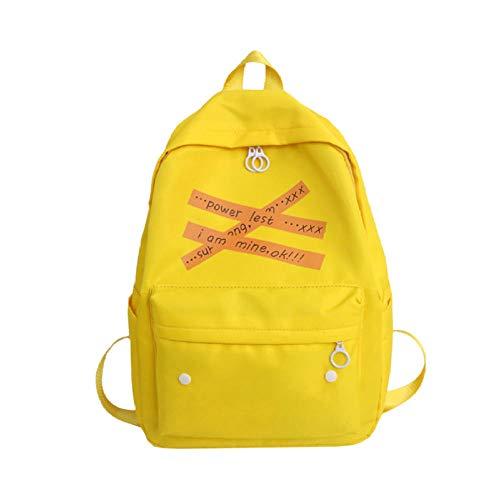 vvff Bookbag Da Donna Studentesse Borsa Da Scuola Per Ragazze Lettere Tela Zaini Carini Borse A Tracolla 30X40X12Cm