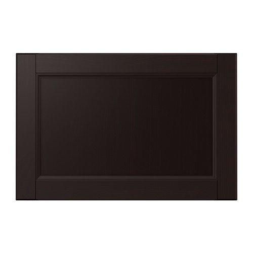 IKEA Laxarby - Schubladenfront, schwarz-braun - 60x40 cm