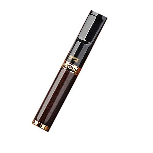 Encaje de cigarrillos, tipo limpio chapado Vintage Cigarrillo de madera Punta de cigarrillo para arte limpio regular Limpie Multi Filtrado de cigarrillos Filtro de humo Limpieza Reutilizable,2