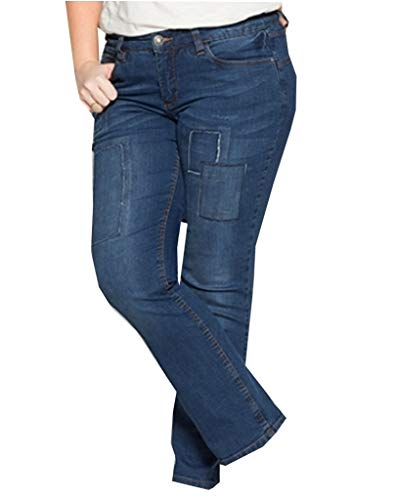 Sheego Jeanshose Damenjeans NEU Übergröße blau Jeans 46 50 52 54 56