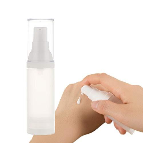 Botellas de Prensa de Bomba de loción Dispensador de la Botella de la Bomba para la Familia y el Viaje Recargable Botella de plástico 30ml