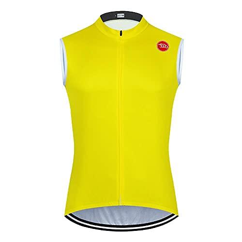 Chaleco sin mangas para mujer, transpirable, de secado rápido, para montar en bicicleta