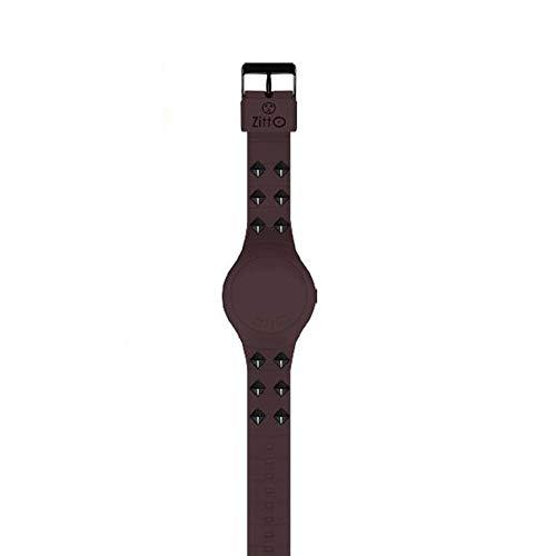 Reloj Digital pequeño ZITTO Rebel Dark de Silicona Gris GRAYWAY-Mini-LL