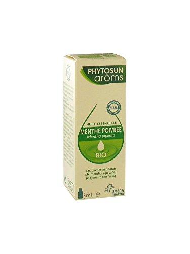 Phytosun - Huile Essentielle De Menthe Poivrée Bio - Flacon De 5 Ml