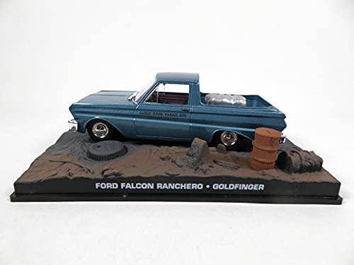 OPO 10 - Auto 1/43 Compatibile con Ford Falcon Ranchero James Bond 007 Goldfinger (DY076SP)