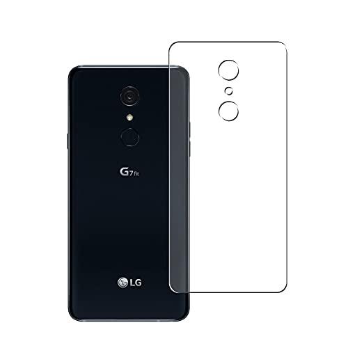 Vaxson 2 Unidades Protector de pantalla Posterior, compatible con LG G7 Fit Fit+ [No Carcasa Case ] Película Protectora Skin Cover Piel