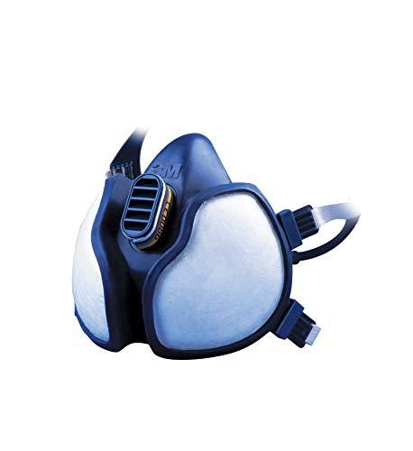 3M Atemschutz-Maske 4279+, ABEKP3, Schutz vor chemischen Stoffen wie Pestiziden und Reinigungsmitteln, 1 Maske