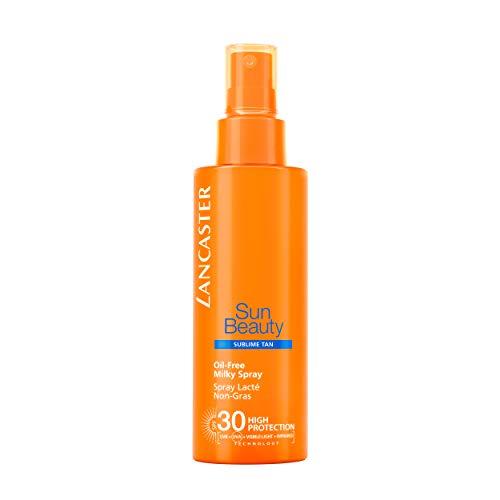 LANCASTER Sun Beauty Milky Spray LSF 30, Körper-Sonnenschutzmilch /-spray, Full-Light-Technologie, mittlerer SPF, 150 ml