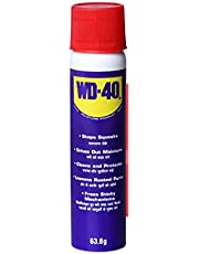 Pidilite WD-40, Multipurpose Spray for Home Improvement, Loosens Stuck & Rust Parts, Removes Stain & Sticky Residue, Descaling, Protectant & Cleaning Agent for Household, Work and DIY Purposes, 63.8g