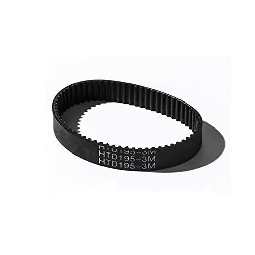 LCuiling-Cinturón sincrónico Cinturón de tiempo HTD 3M, 297-336MM Longitud, 99-112 Dientes, 6/10 / 15mm Ancho, correas de transmisión síncrona, para máquinas CNC en cinturón de bucle cercano Estable y