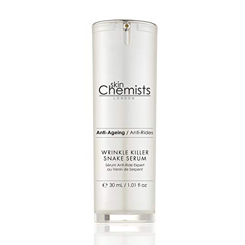Sérum visage puissant anti-âge pour éliminer les rides et les ridules - Ingrédients actifs cliniquement prouvés - SySnake et acide hyaluronique - Résultats instantanés sur les peaux matures - 30 ml