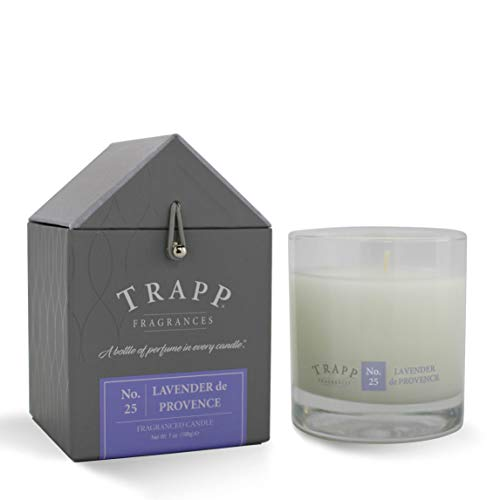 Trapp Signature Home Collection No. 25 Lavender De Provence Poured Scented Candle, 7 Ounce