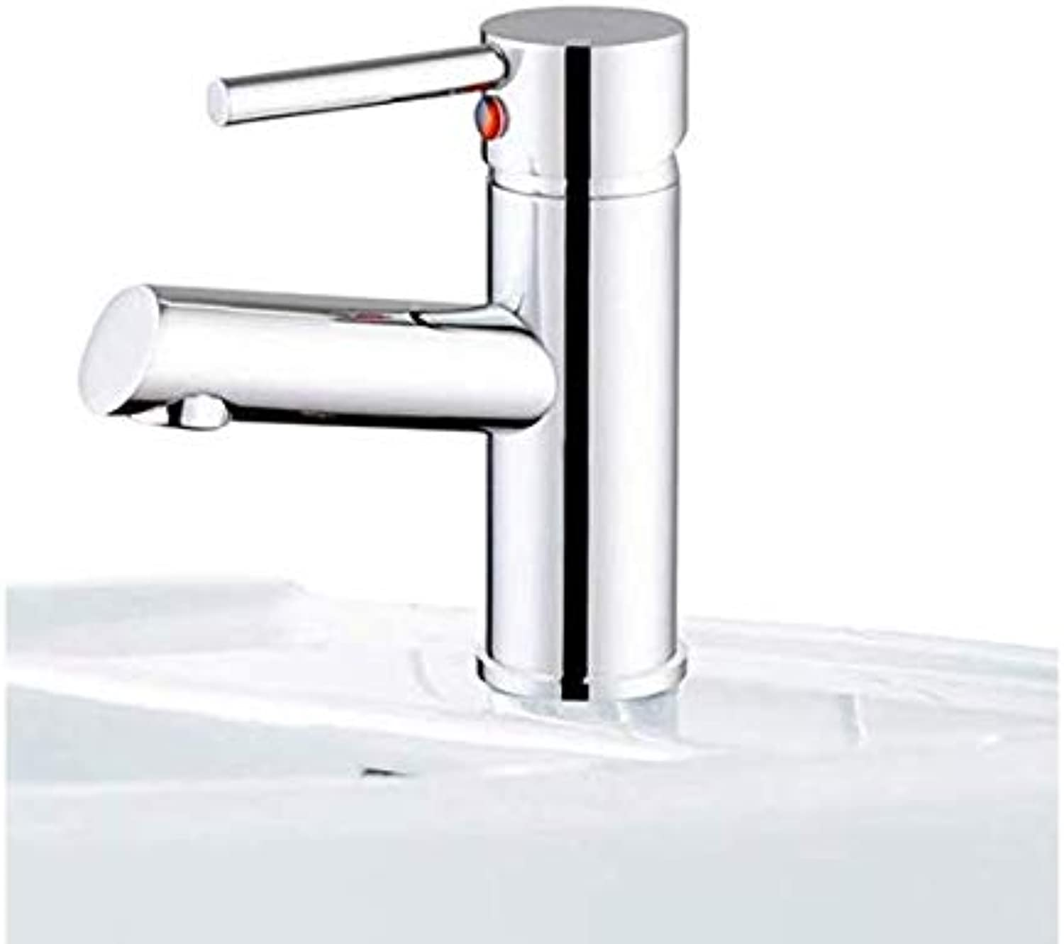 Kitchen Fauct Bathroom Faucet Hot and Cold Copper Basin Faucet Washbasin Washbasin Mixer