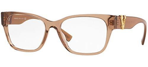Versace VIRTUS VE 3283 TRANSPARENT BROWN 52/17/140 Damen Brillen